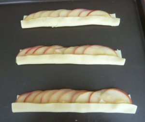 roses feuilletées aux pommes 5