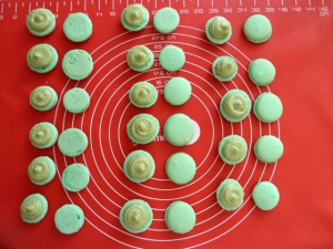 Macaron pistache 11