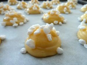 Chouquettes sucre perlé