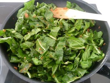 Tarte feuilles blettes 4