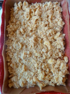 crumbcake abricots