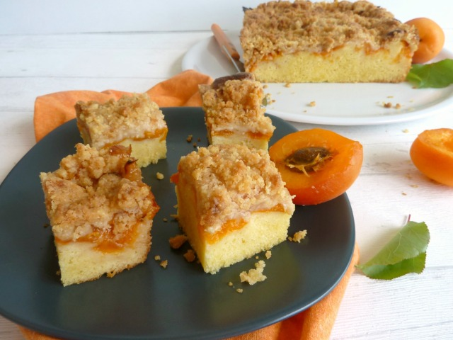 cake aux abricots