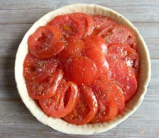 Tarte tomate et moutarde 4