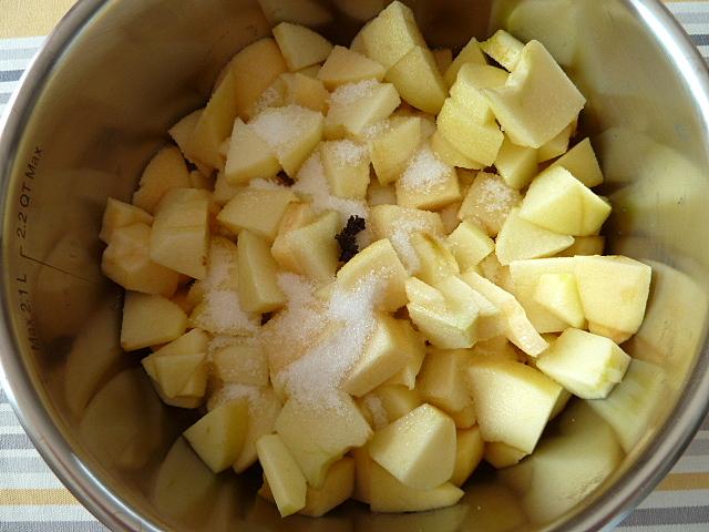 pommes et vanille