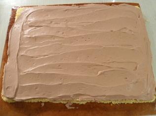 Buche roulée chocolat framboises (10)