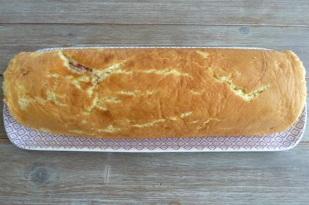 Buche roulée chocolat framboises (12)
