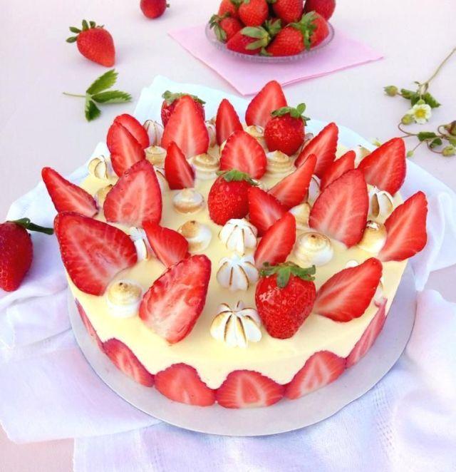 fraisier facile