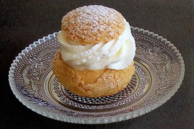 choux et crème chantilly