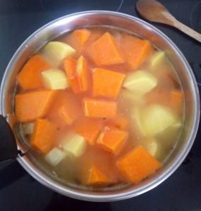 légumes pour soupe