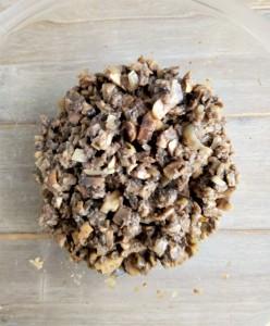 champignons après cuisson