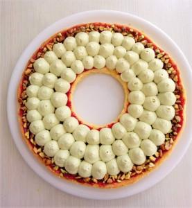 montage tarte couronne